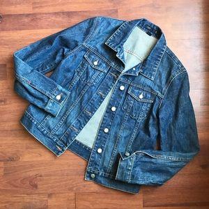 J Crew Denim Blue Jean Jacket S